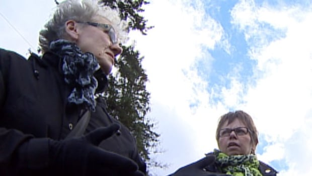 "Jeanne Sarson, left, and Linda MacDonald say there's only one word to describe what Sara went through - torture. Sarson and MacDonald founded the group Persons Against NST to raise awareness about domestic ""torture"" cases and help victims."