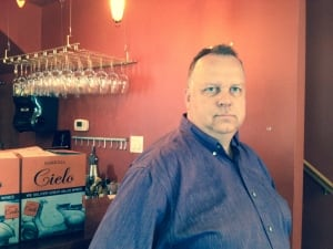 Zen Kitchen owner David Loan