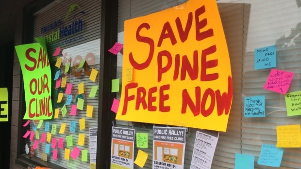 More than 1,000 people have signed a petition to save the Pine Clinic in Kitsilano.