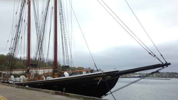 Bluenose II, remains at the wharf in Lunenburg and it is unclear when sea trials will begin.