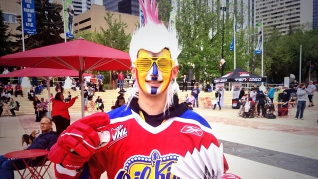 There was a party in Winston Churchill Square Wednesday to celebrate the Oil Kings, who returned home Memorial Cup champs earlier this week.