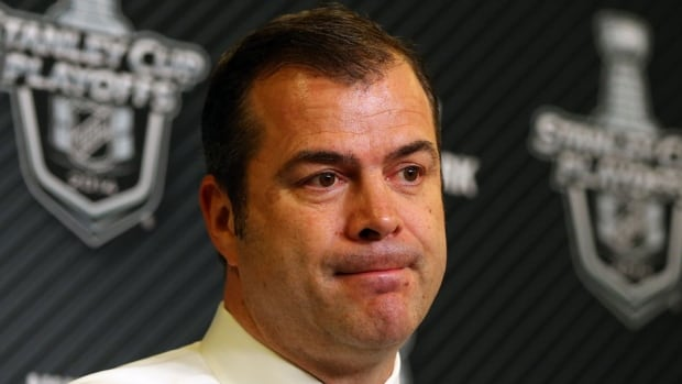 "Rangers head coach Alain Vigneault, pictured here, says John Moore's blindsided open-ice hit against Montreal's Dale Weise during Game 5 of the NHL Eastern Conference final ""doesn't meet the league standard as far as a late hit,"" so he shouldn't face further discipline from the NHL."