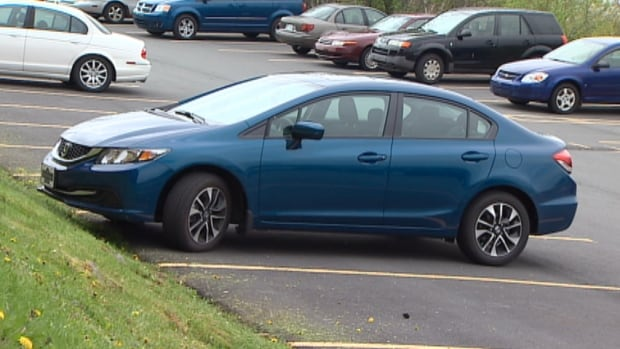 Ryan Cheverie's Honda Civic is safely back home.
