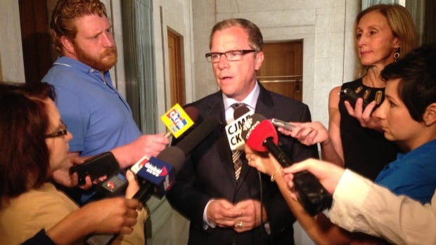 Saskatchewan Premier Brad Wall says he is willing to consider non-government liquor stores, if voters insist upon such a move.