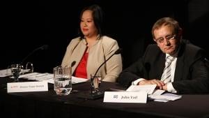 Donna Tiqui-Shebib and John Vail