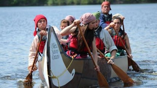 Ten young Métis Voyageurs will pull up to the shore at Chippewa Park Friday night, after a 2,000 kilometre canoe journey from Ottawa. They are arriving as the Métis Nation of Ontario kicks off its Annual General Assembly.