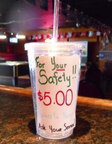 bar cups