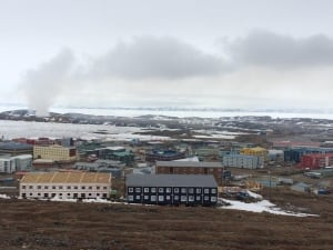 Iqaluit dump fire, May 29 2014