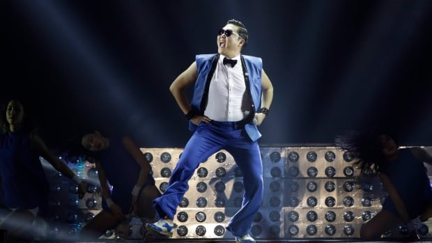 Psy's 'Gangnam Style' video was first posted on YouTube in July 2012.