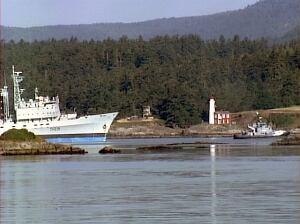 HMCS Protecteur back in B.C. waters