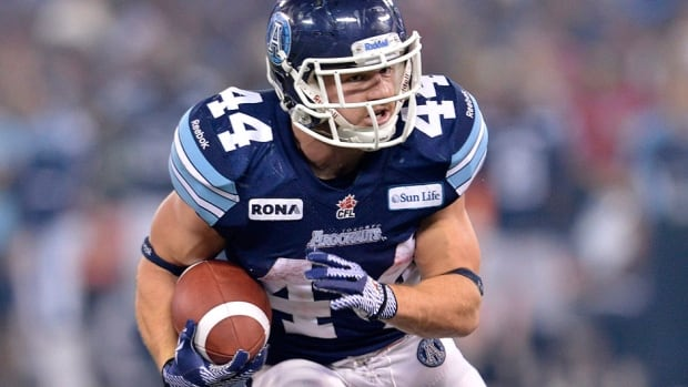 Argonauts running back Chad Kackert announced his retirement from the CFL on Sunday after breaking his ankle late last season. Kackert will be the team's new strength and conditioning coach.