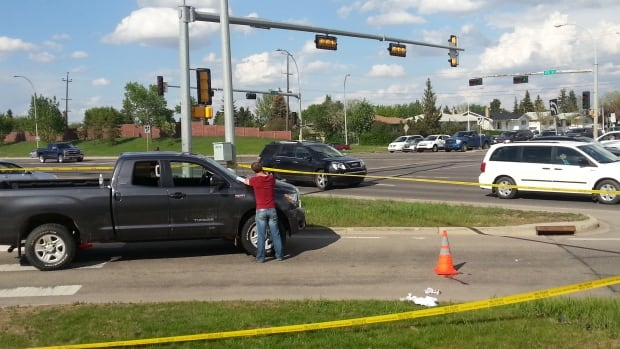 A 73-year-old woman died after being hit by a truck at a marked crosswalk on 170th Street and 95th Avenue on May 31.