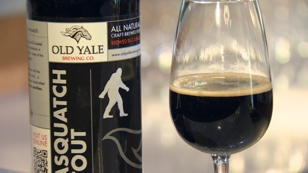 "The Canadian Brewing Awards named Old Yale Brewing Co.'s Sasquatch Stout the 2014 ""Beer of the Year."""