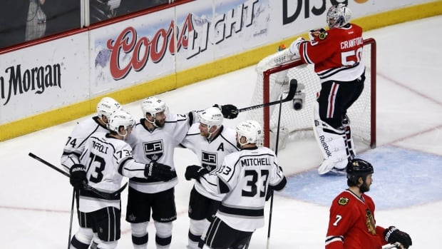 Kings Take Game 7 OT In Chicago To Reach Stanley Cup Final
