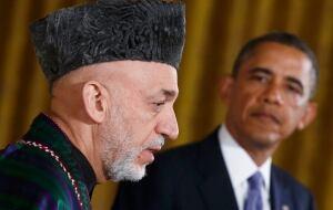 Karzai and Obama