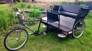 Josh Cole's pedicab