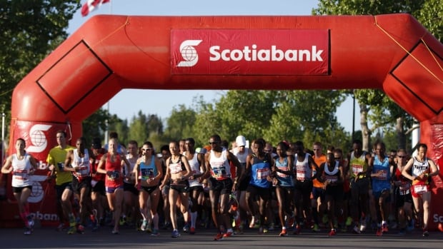 Over 15,000 runners participated in the 2014 Scotiabank Calgary Marathon Sunday.