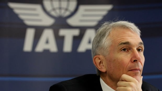Tony Tyler, International Air Transport Association director general and CEO says he expects the airline industry to have a profit of $18 billion in 2014, lower than initially forecast