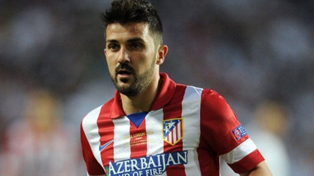 Forward David Villa helped Spain win the 2008 European Championship and the 2010 World Cup.