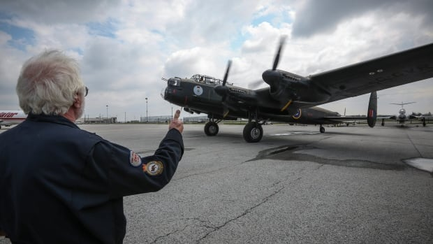 The Avro Lancaster, flown and maintained by the Warplane Museum in Hamilton, is one of only two airworthy Lancasters in the world. The bomber took off from the museum on Tuesday for its six-week tour in U.K.