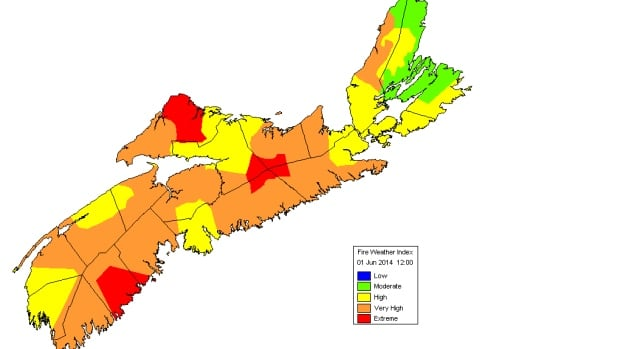 A drier than usual May has increased the threat of fire across the province.
