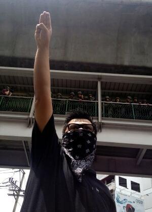 Thailand Symbolic Salute