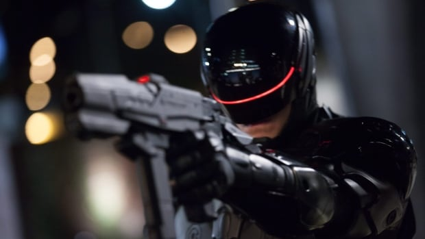 RoboCop is going to be throwing out the first pitch at tonight's Tigers-Jays game at Comerica Park.
