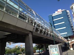 Skytrain glass