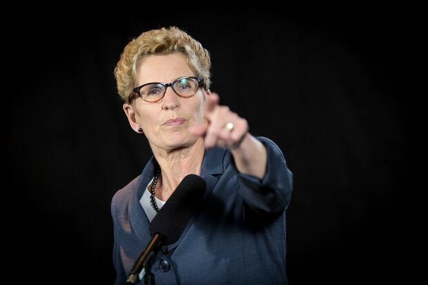 Ontario votes 2014 Kathleen Wynne post debate scrum June 3 2014