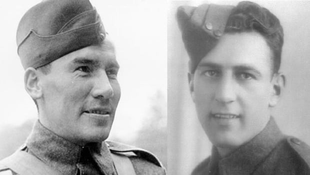 Sgt. Harvey Dreaver and Cpl. Albert Leo Jacques are two of the soldiers that students in the  Club du Souvenir at École St. Andrew have researched.