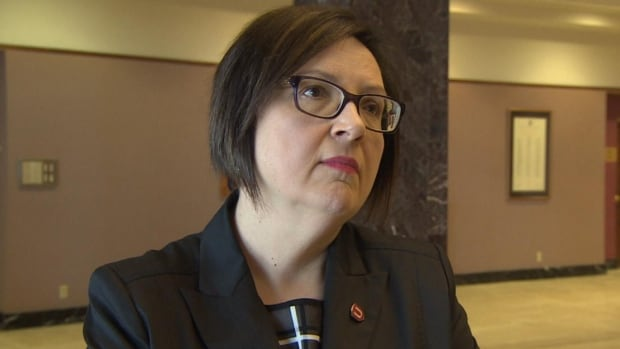 Unifor's Lana Payne says Bill 22 marks a serious erosion of workers' ability to form a union.