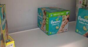 Low diaper stocks Grand Falls-Windsor