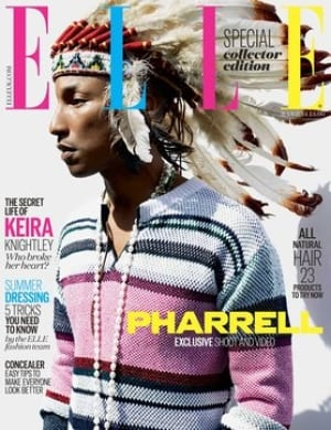 pharrell head dress