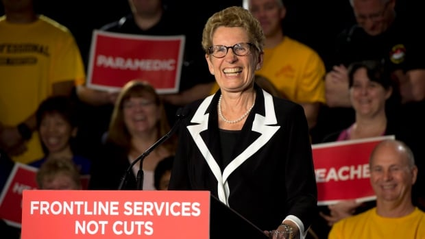 A re-elected Liberal government would bring back the Ontario legislature within 20 days of the June 12 election and re-introduce the budget that triggered the vote, Premier Kathleen Wynne said Wednesday.
