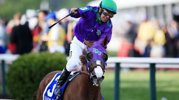 Jockey Victor Espinoza and California Chrome can capture the Triple Crown for the first time since 1978 if they can win the always difficult Belmont Stakes on Saturday.