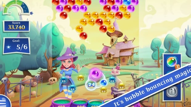 Bubble Witch Saga 2 is the newest game from King Digital, makers of Candy Crush.