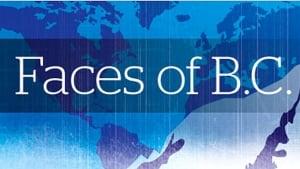 Faces of B.C. promo logo
