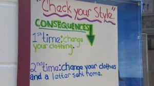 dress code poster