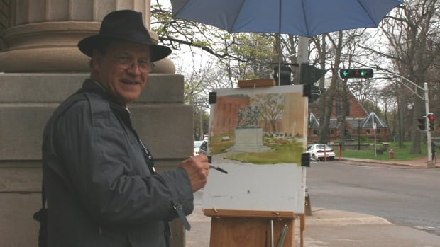 St. Francis Xavier University Fine Art faculty member Bill Rogers was selected by Prince Charles himself to serve as official tour artist during the royal tour.