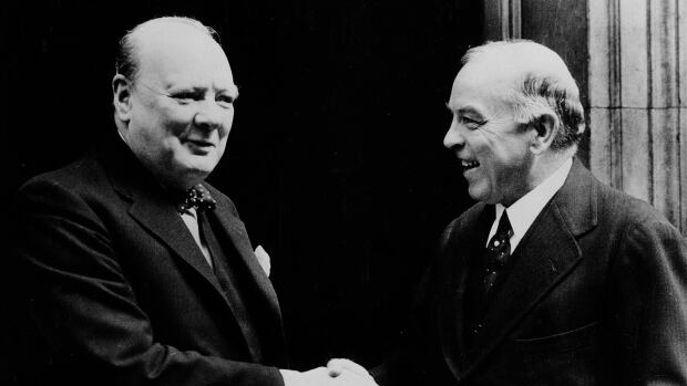 On June 6, 1944, Prime Minister William Lyon Mackenzie King read part of British Prime Minister Winston Churchill's D-Day message into the parliamentary record.