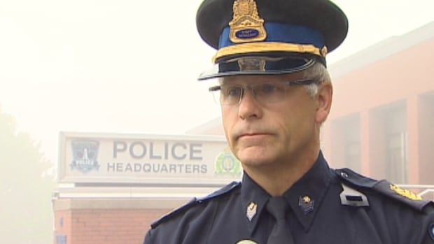 Sgt. Bill Morris spoke about the Moncton shooting at a press conference Thursday morning.