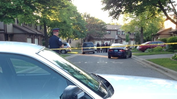 One person is in hospital in serious condition following a shooting in Scarborough Thursday evening.