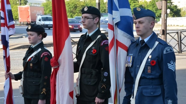 Air, army and sea cadets from across Newfoundland and Labrador are part of a delegation participating in D-Day ceremonies.