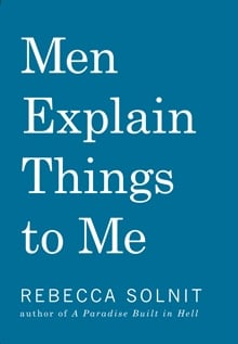 Men Explain Things to Me cover
