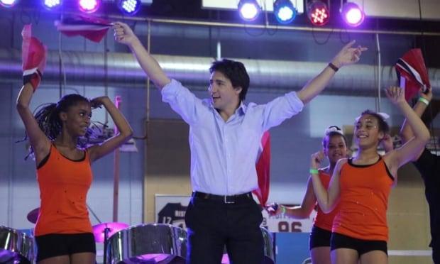 Justin Trudeau visits Regina Mosaic Festival