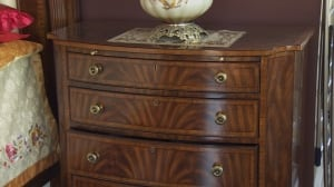 Laura and Han Lee's nightstand