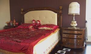 Laura and Han Lee's bedroom furniture