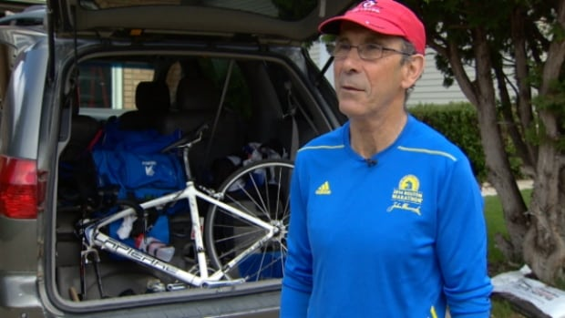 Joe Garcia, 70, has run the Boston Marathon twice.