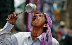India Heat Riots