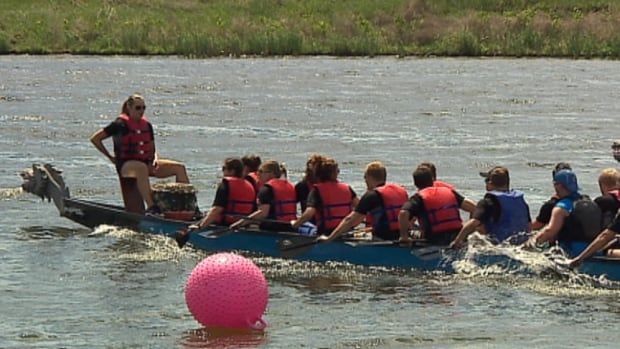 The River City Dragon Boat Festival attracts 116 teams and about 2,400 athletes to events that raise money for the Canadian Cancer Society.